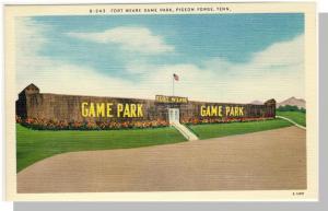 Pigeon Forge,Tennessee/TN Postcard,Fort Weare, Near Mint!