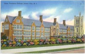 State Teachers College, Jersey City, New Jersey, NJ Linen