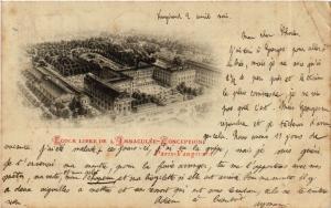 CPA Paris 15e Paris-Ecole Libre de l'Immaculée-Conception,Vaugirard (311525)