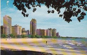 Illinois Chicago Chicago Oak Saint Beach And The Fabulous Gold Coast