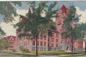 Michigan Detroit Central High School 1910