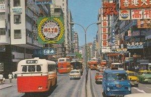 CHINA (Hong Kong) , 1984 ; The Nathan Rd , Kowloon