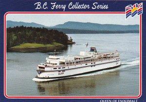 Canada Ferry Queen Of Esquimalt British Columbia Ferries