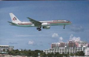 American Airlines Boeing B-757-223 St Maarten Netherland Antilles