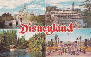 ANAHEIM, California, 1940-1960s; Four Views, The Magic Kingdom, DISNEYLAND