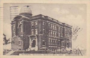 Exterior, Normal School, North Bay, Ontario,  Canada, PU-1923