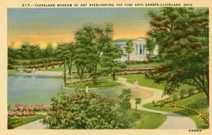 OH - Cleveland, Gardens, Cleveland Museum of Art