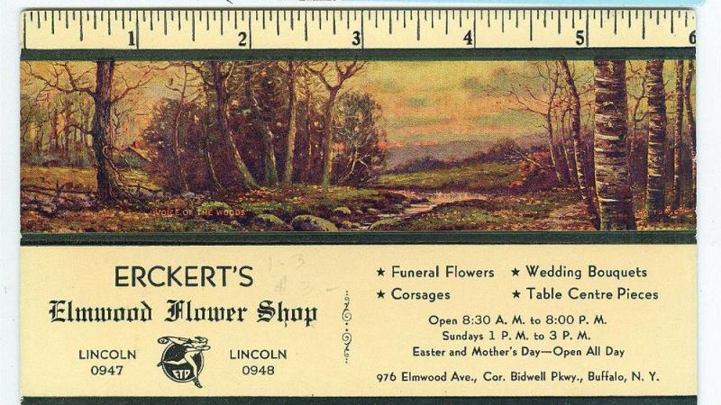 Erckert's Elmwood Flower Shop, Buffalo NY
