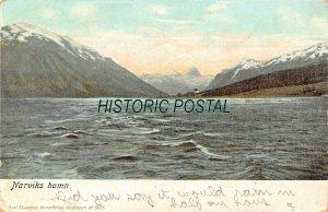 NORDLAND NORWAY~NARVIKS HAMM 1905 POSTCARD