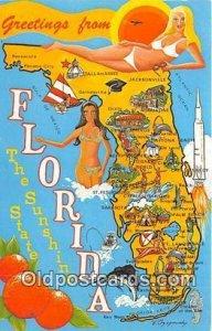 Greeting From Florida, USA Unused