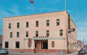 Canada National Hotel Hanna Alberta