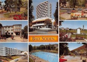 Bad Soden Thermalbad an der Trinkhalle, Europahof, Rathaus, Trinkhalle, Kurpark
