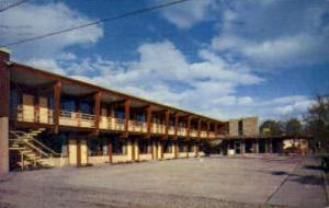 The Devonshire Motor Inn Kalispell MT 1958