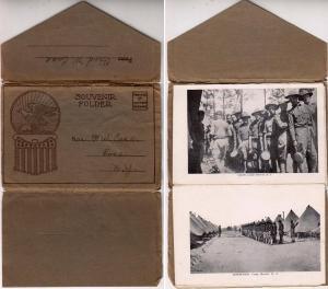 Folder, Camp Merritt NJ. 10 Pics