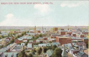 Bird's Eye View From High School York Pennsylvania