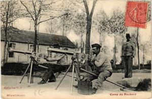 CPA  Mitrailleuses - Camp du Ruchard (741079)