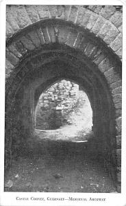 Guernsey Castle Cornet, Medieval Archway