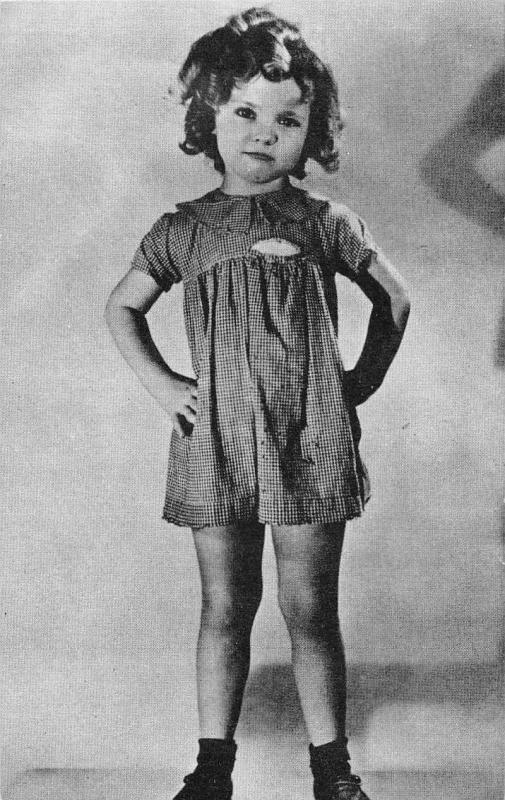 Shirley Temple Actress Old Hollywood Antique Arcade Card J45853