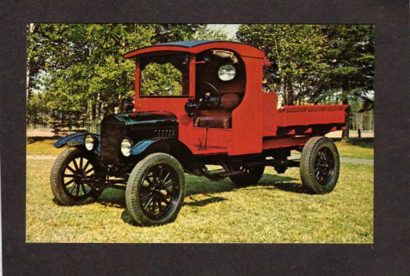 PEI Model T Ford Truck Auto Automobile Prince Edward Island Museum Bonshaw PC
