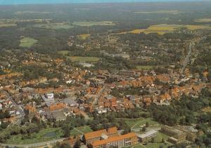 Walsrode Spectacular Aerial German Postcard