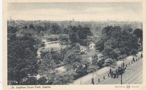 DUBLIN , Ireland , 1900-10s , St Stephens Green Park