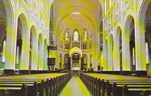 Canada Interior Cathedrale Of The Immaculate Conception Edmunston New Brunswick