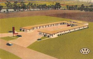 Arkansas  motel west memphis L4397 antique postcard