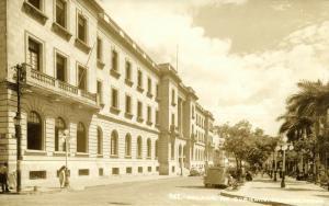mexico, TAMPICO, Palacio de Gobierno, Cars (1950s) RPPC