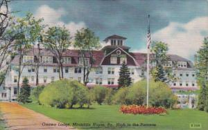 Pennsylvania Mountain House Onawa Lodge High In The Poconos