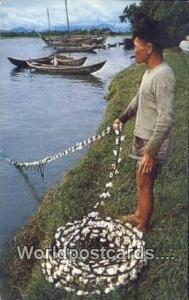 Vietnam, Viet Nam,  Nhân Vật Qung Ngai Fisherman Qung Ngai