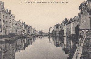 NAMUR, Belgium, 1900-1910's; Vieilles Maisons sur la Sambre