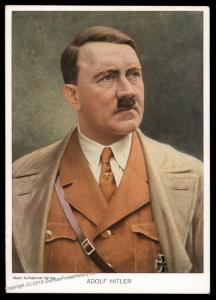 3rd Reich Germany Adolf Hitler Birthday Hanke Color Portrait Propaganda Ca 90782