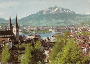 Switzerland, Suisse, LUZERN, used Postcard