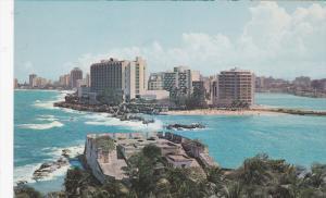 SANTURCE, Puerto Rico, 1940-1960's; Vista Del Area Progresista De Condado
