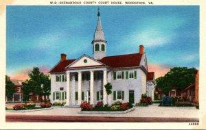 Virginia Woodstock Shenandoah County Court House
