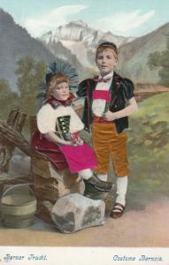 SWITZERLAND, 00-10s ; Berner Tracht/Costume Bernois ; Silk Inserts