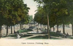 MA - Fitchburg. Upper Common