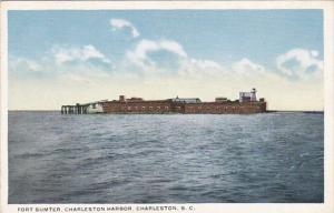 Fort Sumter Charleston Harbor Charleston South Carolina