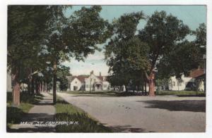 Campton, New Hampshire,  View of Main Street, 1908