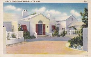 California Brentwood Home Of Gary Cooper