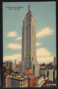 NEW YORK CITY Empire State Building rises 1250 ft above Fifth Avenue - LINEN
