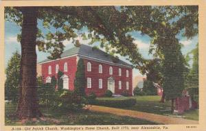 Virginia Alexandria Old Pohick Church Washingtons Home Churchy Built 1773