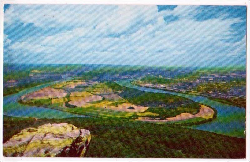 Moccasin Bend, Lookout Mountain, Chattanooga TN