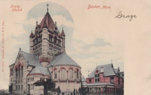 BOSTON, Massachusetts, 1901-1907; Trinity Church
