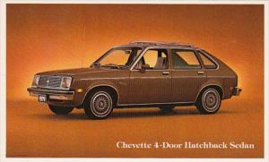 1979 Chevrolet Chevette 4 Door Hatchback Sedan