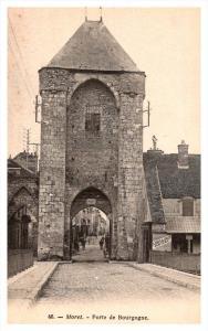 France   Moret Porte de Bourgogne