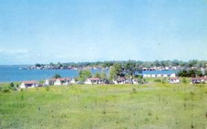 NY - Clayton, Thousand Islands. Hungerford's Riverside Cottages