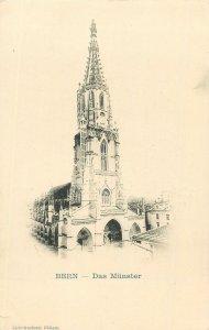 Switzerland Postcard Bern das Munster