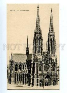 131495 AUSTRIA WIEN Votivkirche Vintage postcard