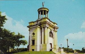 Ohio Hamilton Soldiers Monument 1968